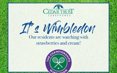 It's Wimbledon!
