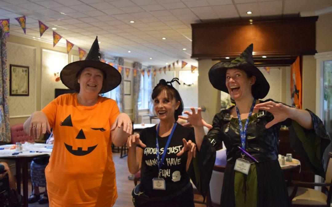 Halloween at Cedar Trust..