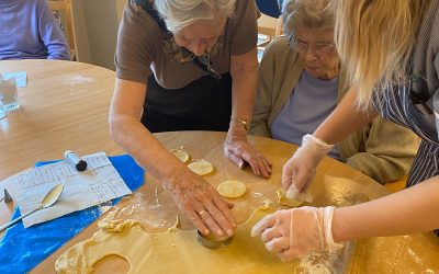 Biscuit Making…